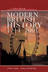 Longman Handbook to Modern British History 1714 - 2001 - Chris Cook, John Stevenson