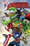 New Avengers (2015-) #5 - Al Ewing, Gerardo Sandoval, Oscar Jimenez