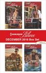 Harlequin Blaze December 2016 Box Set: Cowboy UnwrappedOne Hot DecemberRescue MeA Christmas Seduction - Vicki Lewis Thompson, Tiffany Reisz, Kira Sinclair, Daire St. Denis