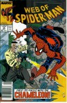 Web of Spider-Man #54 : The Wolves of War (Marvel Comics) - Gerry Conway, Alex Saviuk