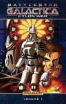 Battlestar Galactica: Cylon War - Joshua Ortega, Eric S. Nylund, Nigel Raynor