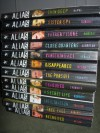 12 book group of Alias paperbacks: Sister Spy, Skin Deep, Father Figure, Close Quarters, Vanishing Act, Disappeared, The Pursuit, Shadowed, A Secret Life, Infiltration, Free Fall, Recruited - Laura Peyton Roberts, Cathy Hapka, Emma Harrison, Sean Gerace, Lynn Mason, Lizzie Skurnick, Beren Frazier