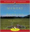 The Memory of Running - Recorded Books LLC, Ron McLarty, Ron McLarty