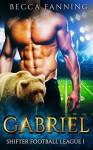 Gabriel (BBW Shifter Secret Baby Football Romance) (Shifter Football League Book 1) - Becca Fanning
