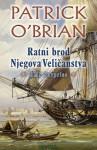 Ratni brod Njegova Veličanstva (H.M.S. Surprise) (Aubrey & Maturin #3) - Patrick O'Brian, Damir Biličić