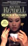 Speaker of Mandarin - Ruth Rendell
