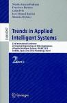 Trends in Applied Intelligent Systems: 23rd International Conference on Industrial Engineering and Other Applications of Applied Intelligent Systems, IEA/AIE 2010 Cordoba, Spain, June 1-4, 2010 Proceedings, Part II - Nicolas Garcia-Pedrajas, Francisco Herrera, Colin Fyfe