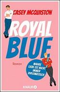 Royal Blue: Roman - Casey McQuiston