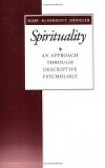 Spirituality: An Approach Through Descriptive Psychology - Mary McDermott Shideler