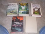 Sins of the Father, Cashelmara, the Rich Are Different, Waiting Sands, Devil on Lammas Night, Dark Shore and Shrouded Walls in 5 Hardcovers- 4 Have Dj's - susan howatch