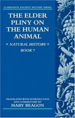 The Elder Pliny on the Human Animal: Human History Book 7 - Pliny