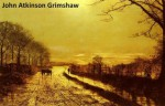 142 Color Paintings of John Atkinson Grimshaw - British Romantic Landscape Painter (September 6, 1836 - October 13, 1893) - Jacek Michalak, John Atkinson Grimshaw