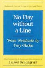 No Day without a Line: From Notebooks by Yury Olesha - Yury Olesha, Judson Rosengrant
