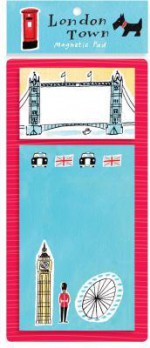 London Town Magnetic Pad - Sarah McMenemy