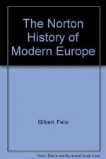 The Norton History of Modern Europe - Felix Gilbert