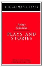 Plays and Stories - Arthur Schnitzler