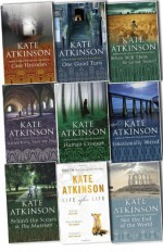 Kate Atkinson Jackson Brodie 9 Books Collection Pack Set (Life After Life,Started Early,Took My Dog,Case Histories,One Good Turn,When Will There Be Good News?,Emotionally Weird,Behind The Scenes At The Museum,Not The End Of The,Human Croquet) - Kate Atkinson