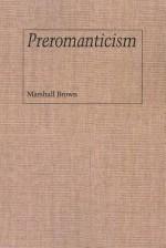 Preromanticism - Marshall Brown