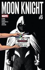 Moon Knight (2016-) #6 - Greg Smallwood, Jeff Lemire
