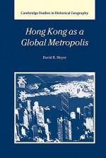 Hong Kong as a Global Metropolis - David R. Meyer