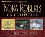 Nora Roberts CD Collection 1: The Villa, Midnight Bayou, Three Fates - Laural Merlington, James Daniels, Bernadette Quigley, Nora Roberts