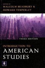 Introduction to American Studies - Malcolm Bradbury, Howard Temperley