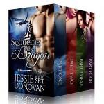 Seducing the Dragon: Boxed Set (Parts #1-4, A BBW / Dragon-shifter Paranormal Romance) (Stonefire Dragons Boxed Book 2) - Jessie Donovan, Hot Tree Editing