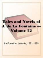 Tales and Novels of J. de La Fontaine - Volume 12 - Jean de La Fontaine