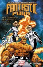 Fantastic Four, Vol. 1: New Departure, New Arrivals - Matt Fraction, Mike Allred, Mark Bagley