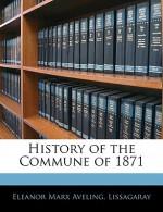History of the Commune of 1871 - Eleanor Marx, Lissagaray