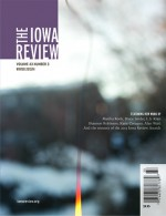 The Iowa Review - Martha Ronk, Bruce Snider, L.S. Klatt, Shannon Robinson, Katie Cotugno, Alan Wald, the winners of the 2013 Iowa Review Awards, And More