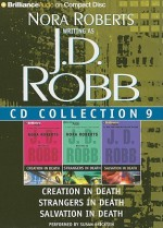 Multi-book Set: Audio Collection 9: Creation in Death / Strangers in Death / Salvation in Death - Susan Ericksen, J.D. Robb