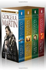 A Song of Ice and Fire: A Game of Thrones / A Clash of Kings / A Storm of Swords / A Feast for Crows - George R.R. Martin
