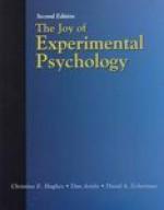 Joy of Experimental Psychology - Christine E. Hughes, Dan Ariely, David A. Eckerman