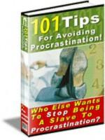 101 Tips To Avoid Procrastination (Penny Books) - Joseph Meyer, Penny Books