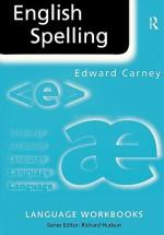 English Spelling - Edward Carney, Richard Hudson