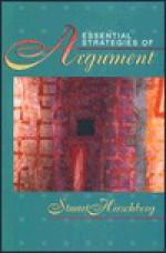 Essential Strategies of Argument - Stuart Hirschberg