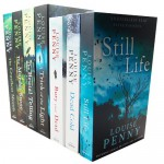 Louise Penny A Chief Inspector Gamache Mystery 7 Books Collection Pack Set RRP £55.93 (Bury Your Dead. by Louise Penny, Still Life, Dead Cold, A Trick Of The Light, The Cruellest Month, The Murder Stone, The Brutal Telling) - Louise Penny