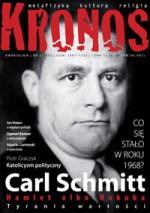 Kronos 3 (7)/2008 - Redakcja pisma Kronos