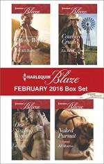 Harlequin Blaze February 2016 Box Set: A SEAL's TouchOne Sizzling NightCowboy CrushNaked Pursuit - Tawny Weber, Jo Leigh, Liz Talley, Jill Monroe