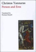 Person and Eros - Christos Yannaras