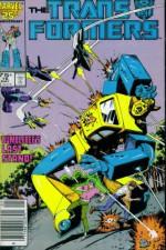 The Transformers # 16 : Plight of the Bumblebee (Marvel Comic Book 1987) - Len Kaminski, Graham Nolan