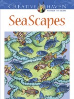 Creative Haven SeaScapes Coloring Book - Patricia J. Wynne