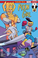 Moon Girl and Devil Dinosaur (2015-) #26 - Alitha Martinez, Natacha Bustos, Brandon Montclare