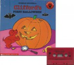 Clifford's First Halloween Book and Audiocassette Tape Set (Paperback Book and Audio Cassette Tape) - Norman Bridwell, Norman Bridwell, Judie Bazeman