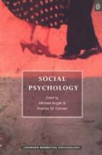Social Psychology - Michael Argyle