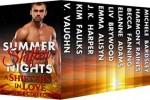 Summer Shifter Nights Box Set - V. Vaughn, Michele Bardsley, J.K. Harper, Harmony Raines, Liv Brywood, Kim Faulks, Elianne Adams, Emma Alisyn, Becca Fanning
