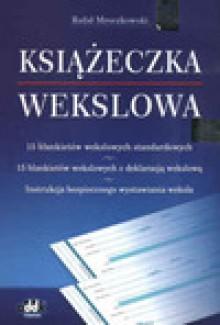 Książeczka wekslowa - Mroczkowski Rafał