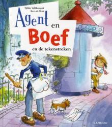Agent en Boef en de tekenstreken - Tjibbe Veldkamp,Kees de Boer