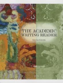 The Academic Writing Reader - Stuart Hirschberg, Terry Hirschberg, George Miller